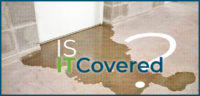 Is It Covered? Sewer and Drain Backup